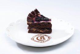 Juodojo šokolado tortas su Kubos romu
